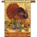 Thanksgiving Inside Flag